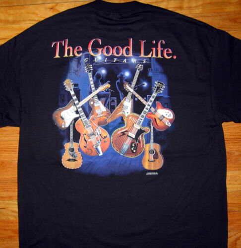 GUITARS The Good Life T-SHIRT Acoustic /& electric NEW