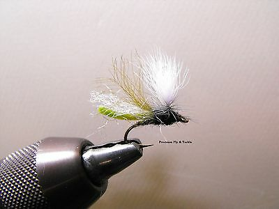 1 DZ CDC OLIVE Caddis Emergers  Must see  for trout fly fishing #14,16,18