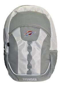 NBA Oklahoma City Thunder Gray Team Backpack 17.5 inch