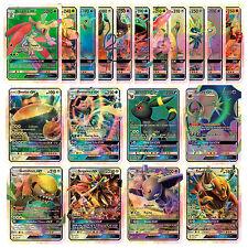 New Pokemon TCG : 20 CARD LOT RARE COM/UNC HOLO & GUARANTEED GX ART GAME CARDS
