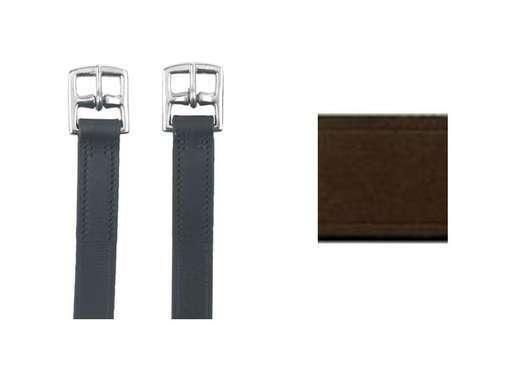 Kerbl Steigbügelriemen Leder Riemen für Steigbügel Lederriemen 2 Größen / Farben