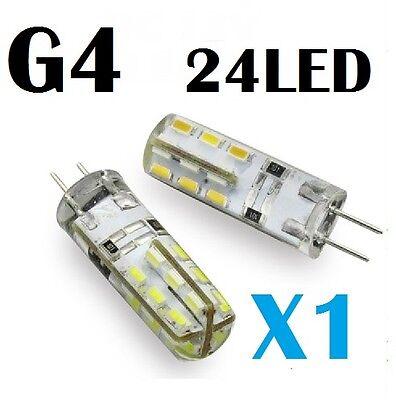 1PC G4 1.5W Cool White LED Light Lamp Bulb Reading DC 12V .,. Car Caravan Boat