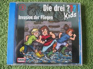 CD-Hoerspiel-Die-Drei-Kids-Folge-3-Invasion-der-Fliegen-Audio-CD