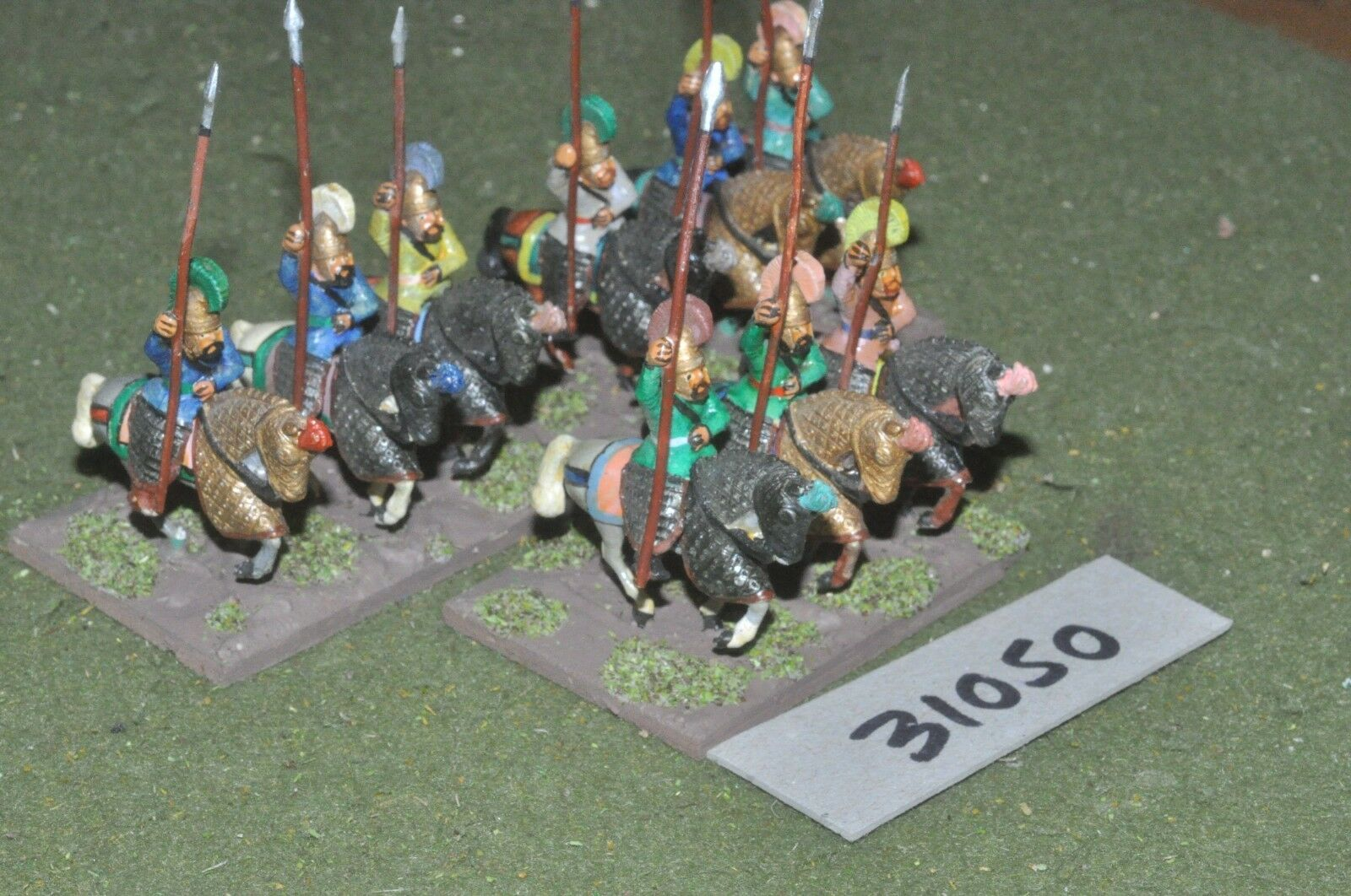 25mm classical   persian - heavy 9 figures - cav (31050)