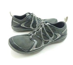 Merrell-Trail-Glove-Training-Shoes-Black-Granite-Ice-Mens-Size-8-5-Vibram-Soles