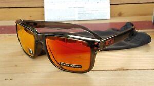 09e63062c7d New Oakley HOLBROOK (A)9244-2856 Sunglasses Grey Smoke w Prizm Ruby ...