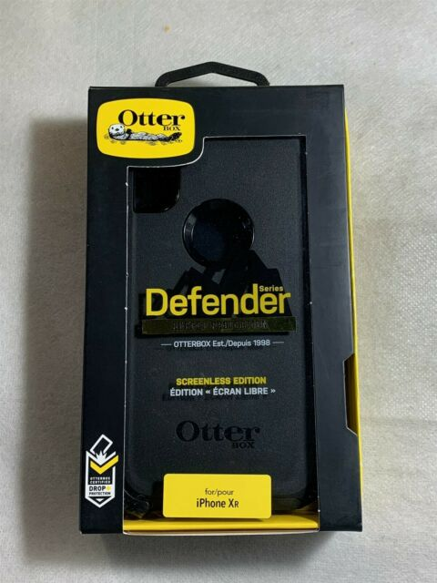 Otterbox Defender Screenless Edition Case for iPhone XR-Black!