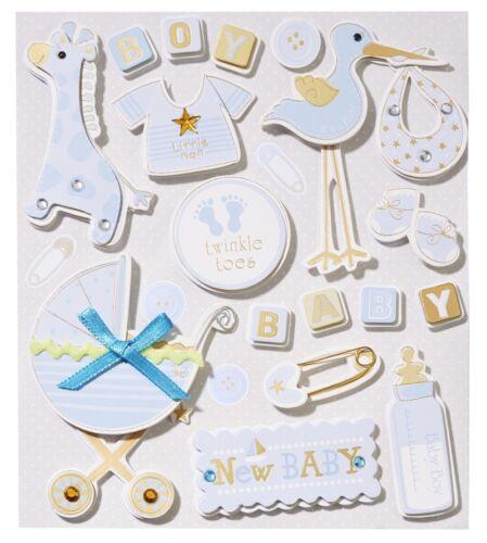 Sticker CREApop Junge//Mädchen Boy Girl Scrapbooking Baby Geburt Taufe Einladung