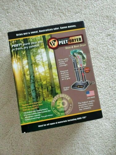 Peet Dryer Original 2-Shoe Electric Shoe and Boot Dryer Brand New in Box