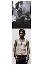 Johnny Depp 2 Individual Posters! Piano Wife Beater B&W teen idol Sleep Hollow
