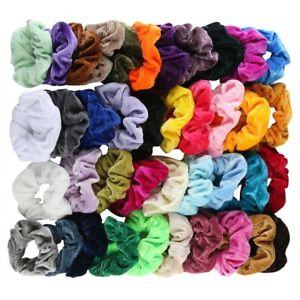 40Pcs-Hair-Scrunchies-Velvet-Elastic-Hair-Bands-Scrunchy-Hair-Band-9-15-20pcs-Ne