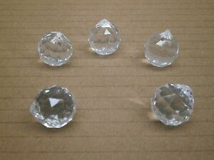 Lot Of Spherical Globe Tear Drop Prism Acrylic Crystals - Chandelier acrylic crystals