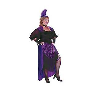 dd3b55d6c Adult Lady Maverick Saloon Girl Plus Size Fancy Dress Costume for ...