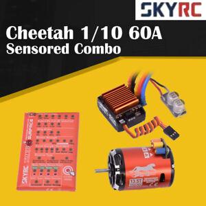 SKyRC-Cheetah-1-10-60A-Sensored-ESC-13-5T-2590KV-Brushless-Motor-Program-Card