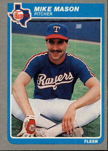 Details About 1985 Fleer Baseball Base Singles 562 660 Pick Your Cards