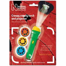 Kinder Gruselig Krabbelnd Taschenlampe & Projektor Spielzeug - Insekten Art