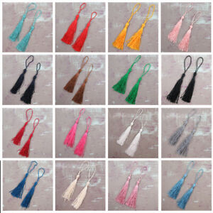 10 x TASSELS *38 COLOURS* BOOKMARKS CRAFTS CARD MAKING DRESS CUSHION 13cm