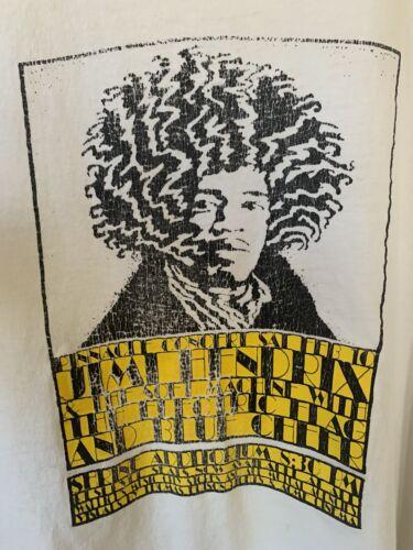 Jimi Hendrix T Shirt Large Vintage