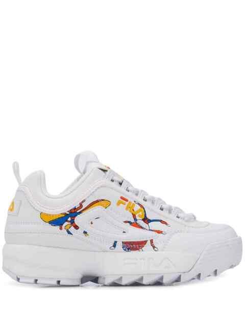93 u46k 0h0v 53397 Fila Disruptor Calabrone Low Wmn Sneaker Woman (36 Eu)