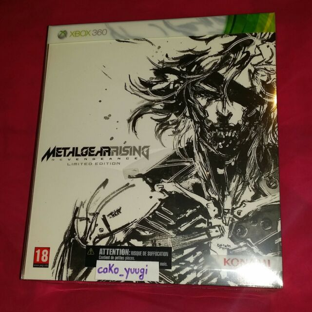 METAL GEAR RISING REVENGEANCE EDITION COLLECTOR  XBOX 360 NEUF VERSION FRANCAISE