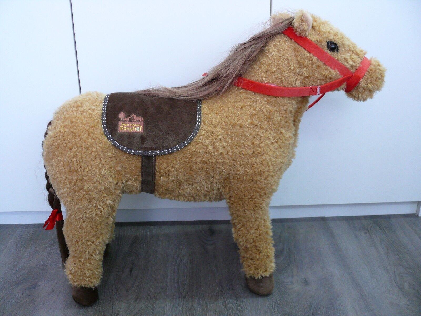Spiegelburg - Mein Pony Ponyhof Charly Sitzpferd 46 cm Sitzhöhe - Neu
