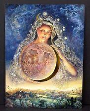 Get Well Soon Greeting Card Moon Goddess Josephine Wall Artwork Leanin Tree