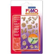 Fimo Ornamente Motiv-Form, 19 Motive Schablone Schmuckform Modelliermasse