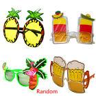 Fashion Novelty Funny Party Plastic Eye Glasses Beach Sunglasses Accessory Gift