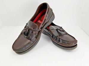 2371659545d Bass Henry II Mens Loafers Slip On Leather Kiltie Tassels 1671205 US ...