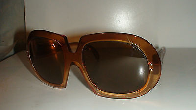 FRANCE C N  WOMENS OVERSIZED MOVIE STAR SUNGLASSES CIRCA 1970,s MADE IN FRANCE
