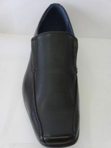 Maverick A1093 Men/'s Black Synthetic Elasticated Shoes Work Office Casual Wear