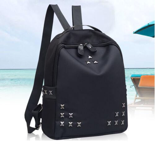 Women/'s PU Leather School Backpack Travel Handbag Satchel Rucksack Shoulder Bag
