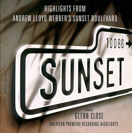 Highlights From Andrew Lloyd Webber s Sunset Boulevard CD GOOD CLEAN COPY  - $9.99
