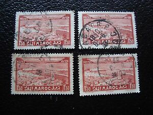 marruecos-sello-yvert-y-aire-de-tellier-n-36-x4-matasellados-A29-stamp