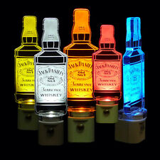 "Jack Daniels Night Light - Dad, Handmade, Man Cave 3/8"" Acrylic - Lamp"