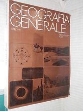 GEOGRAFIA GENERALE Pietro Cuscani Politi Garzanti 1987 libro scuola manuale di