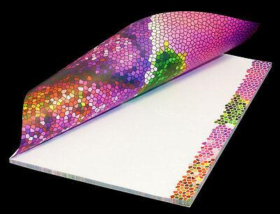 """Schreibblock Briefblock Notizblock Motivpapier DIN A4 50 Blatt /""""Lavendeltraum/"""""""