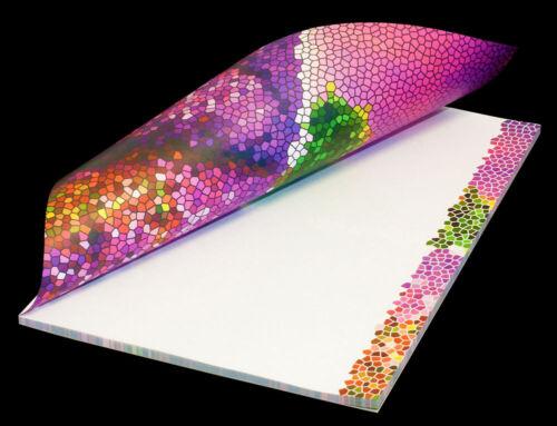 """50 Blatt /""""Lavendeltraum/"""" Schreibblock Briefblock Notizblock Motivpapier DIN A4"""