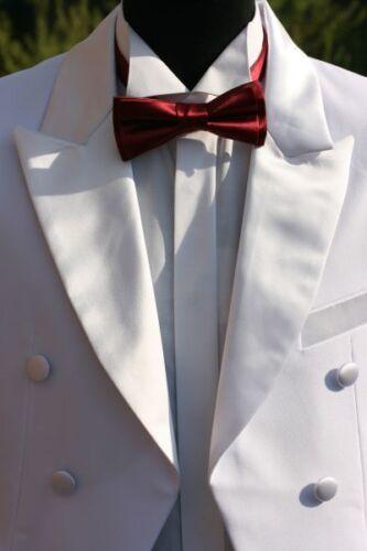 Frack Schwalbenschwanz  Hochzeitsanzug Herrenanzug WEISS  NEU