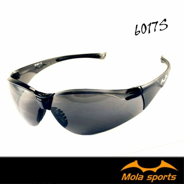 a1db01b94e8f Protective Glasses Anti-fog Light Sport Safety MOLA Dark Grey PPE  Lightweight