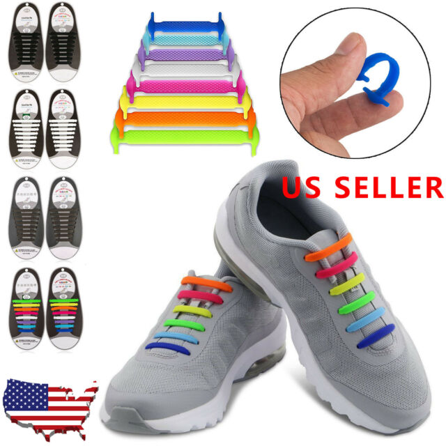 New 2.0 Performance One-Size Fits All No Tie Elastic Shoelaces 14 Shoelaces 3U8