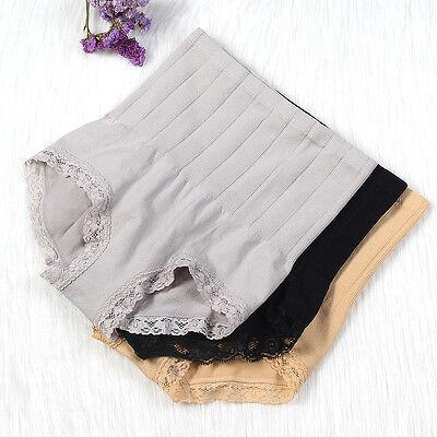 Women's High Waist Body Shaper Brief Underwear Tummy Control Panties Shapewear