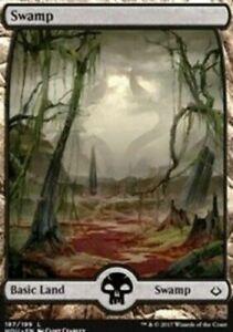 mtg magic basic swamp amonkhet full extended FOIL ENGLISH marais basique 252