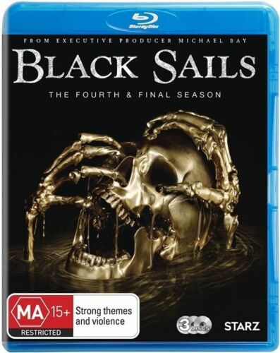 1 of 1 - Black Sails : Season 4 (Blu-ray, 2017, 3-Disc Set)