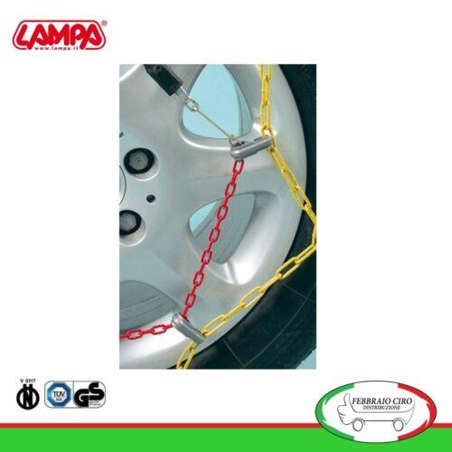 Catene da neve 175//65r14 175 65 14 da 9mm Lampa R9 Omologate Gruppo 5-16067