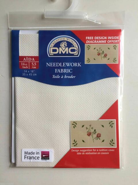 LMCS 100/% Cotton 14CT Embroidery//Stitch Cloth Canvas Cloth Aida Color : Beige, Size : 100x100cm