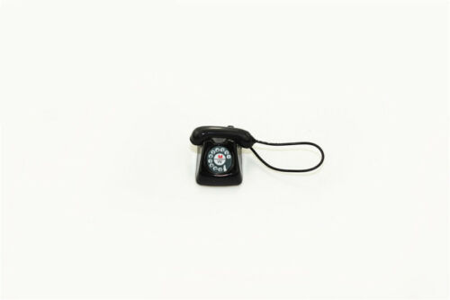 1:12 Scale BJD mini Home wired telephone Dollhouse Miniature Toy Doll FREE SHIPP