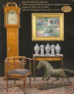 James Julia Fine Art Antiques Asian Auction Catalog August 2014 Ebay