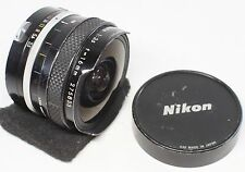 AS IS Nikon Fisheye NIKKOR Auto 16mm F/3/5 Non AI Lens Made In Japan