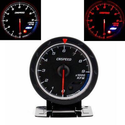 Car Tachometer Gauge,Universal Tachometer Gauge RPM 7 Coclors Backlight LED with 52mm 2inch 12V Power for Auto Gasoline Engine,0-9000 RPM